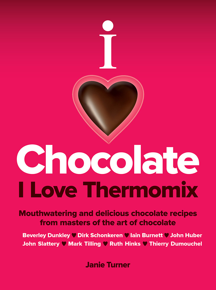 I Love Chocolate I Love Thermomix Cookbook Front Cover