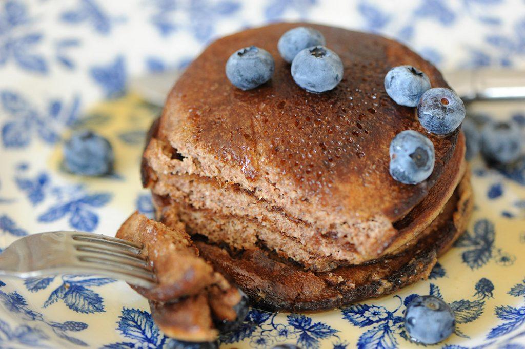 Gluten Free Pecan Banana Pancakes Thermomix Recipe