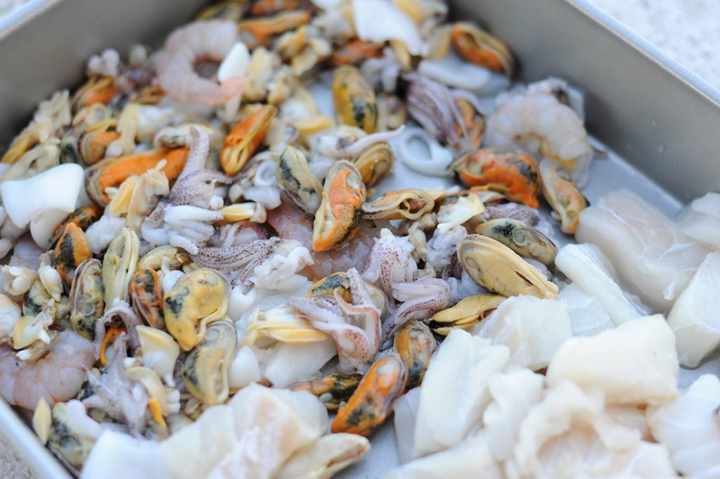 Greg's Seafood Risotto Thermomix Recipe