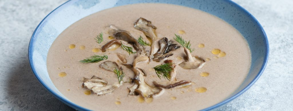 Wild mushroom velvet soup thermomix recipe
