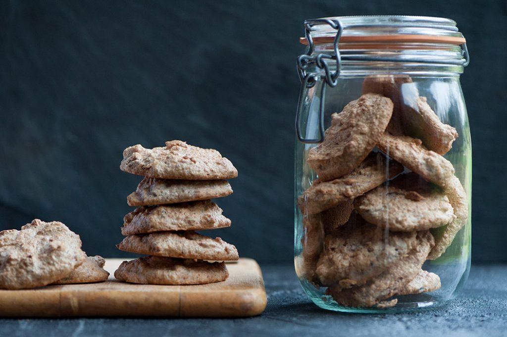 Honey Amaretti Biscuits Thermomix Recipe