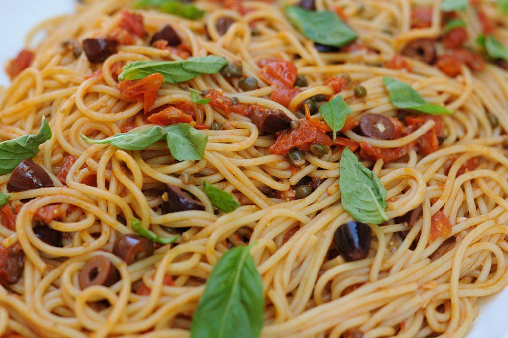 Spaghetti alla Puttanesca Thermomix Recipe