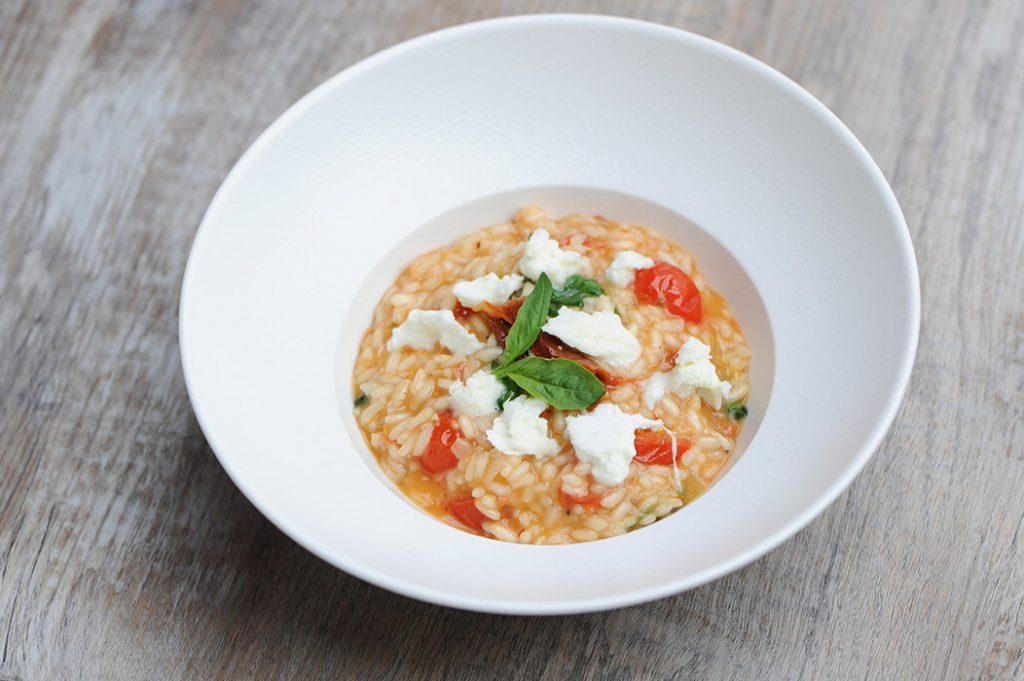 Tomato and Mozzarella Risotto Thermomix Recipe