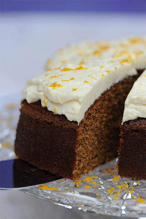 Carrot Cake with Cream Cheese Icing Thermomix Recipe