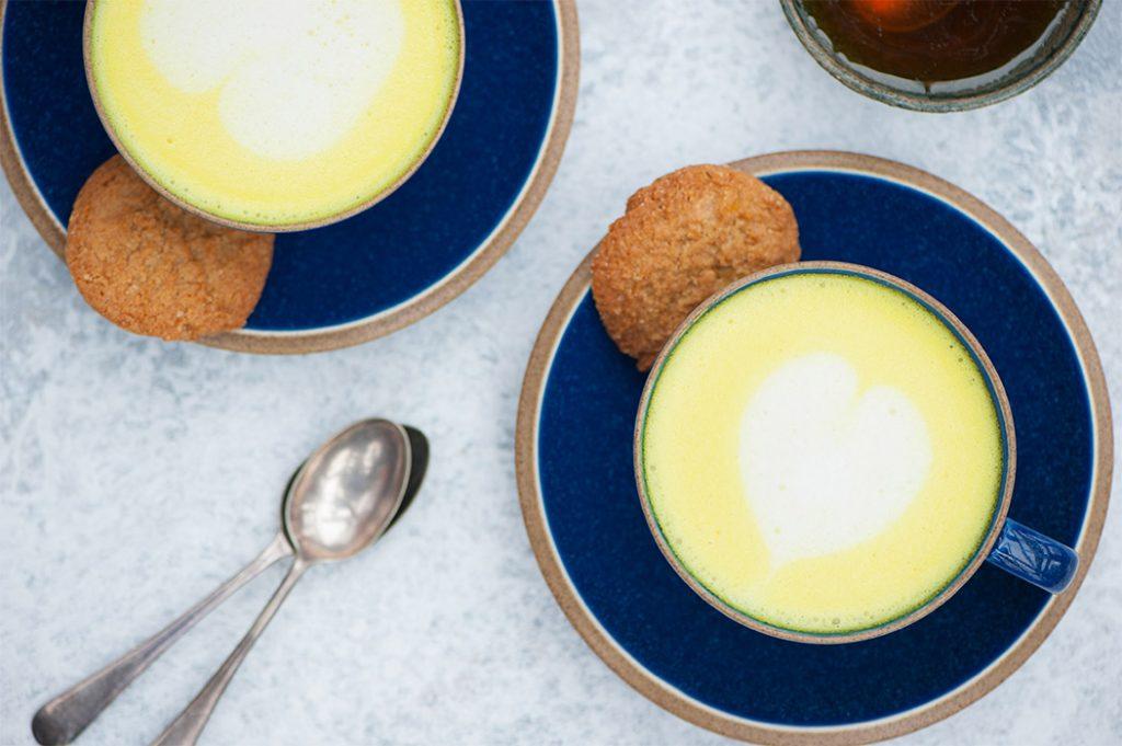 turmeric ginger latté Thermomix Recipe