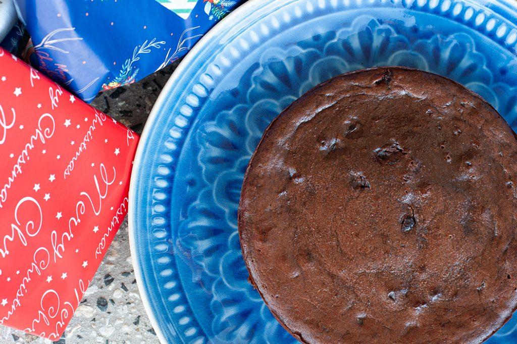 Chocolate Cinnamon Cranberry Cake Thermomix Recipe