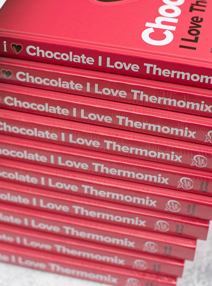 box of 10 - i love chocolate i love thermomix