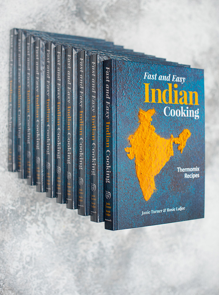 box of 10 - fast and easy indian cooking