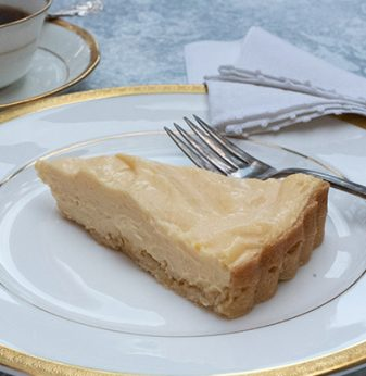 Luscious Lemon Tart with Hot Butter Pastry Thermomix Recipe