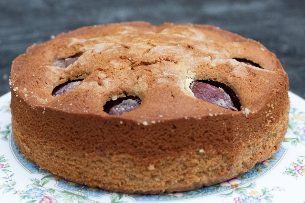 Plum Cake Thermomix Recipe