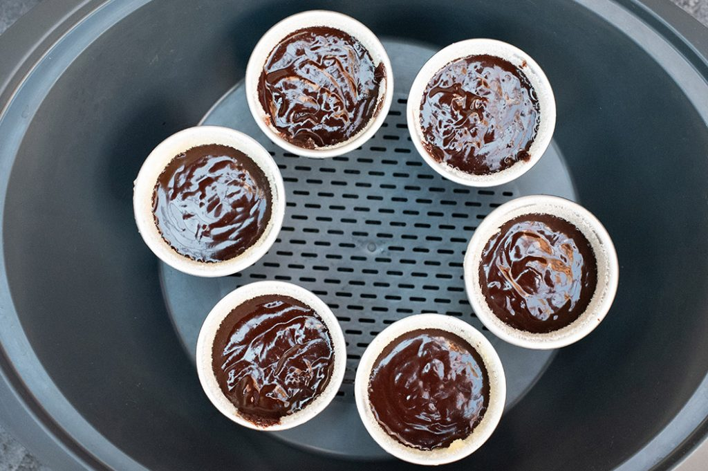 Soft Centre Chocolate Puddings Thermomix Recipe