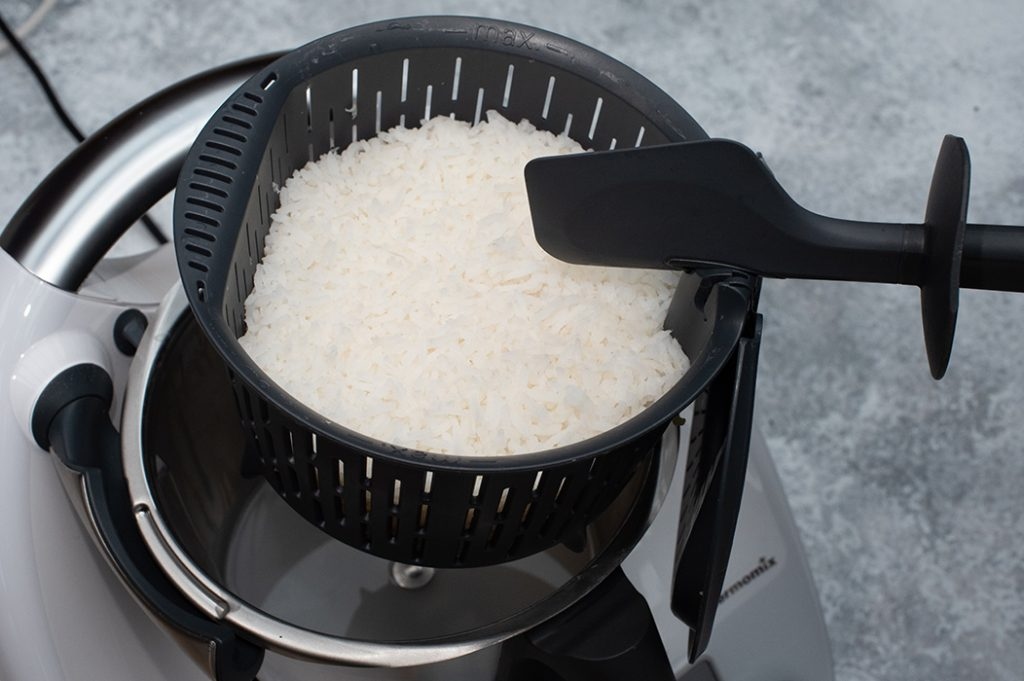 Perfect Steamed Rice Thermomix Recipe