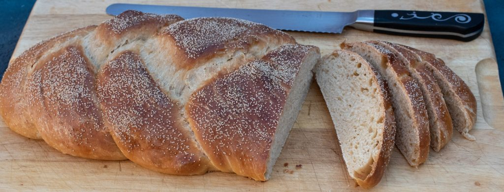 Chollah Bread Thermomix Recipe